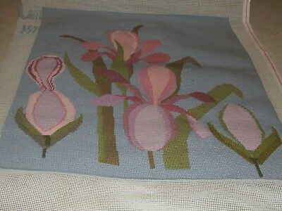 Completed Tapestry Flowers