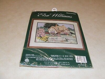Elsa Williams Needlepoint Kit - Country Home - New
