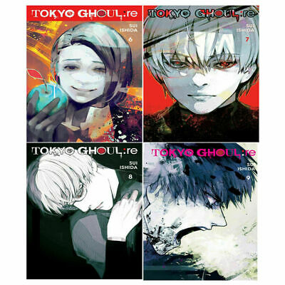 Tokyo Ghoul Series re Vol 6-9 Collection Sui Ishida 4 Books set Anime and Manga