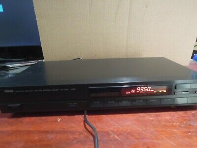 Yamaha Tx 330 Am/fm Tuner With Manual Full Working Order Made In Japan