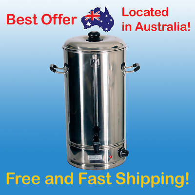 20L Hot Water Urn Stainless Steel Water Boiler Commercial