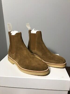 bc422daacd48e New Common Projects Chelsea Boots Suede Tobacco Womens 6 US 36 Eur MSRP $530