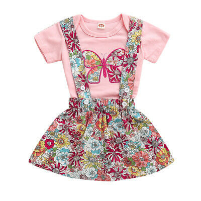 2431692e4 UK STOCK NEWBORN Outfit Baby Girls Rompers Leggings Playsuit Clothes ...