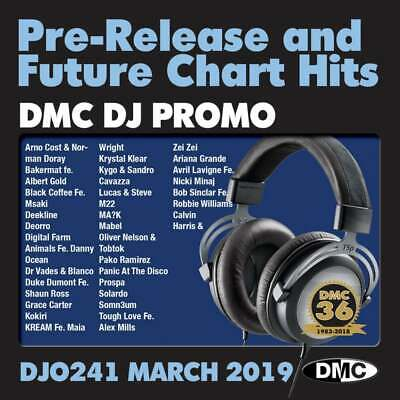 DMC DJ Only 241 Promo Chart Music CDs ft. Pink 'Walk Me Home' Double Disc Set