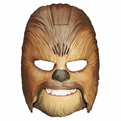 Star Wars Movie Roaring Chewbacca Wookiee Sounds Mask – Funny GRAAAAWR Noises, S