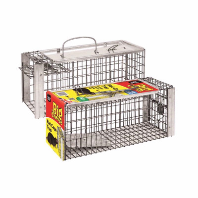 Big Cheese RAT CAGE RAT GLUE MOUSE GLUE TRAP Live Animal Catcher Indoor& Outdoor
