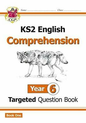 New KS2 English Targeted Question Book Year 6 Comprehension - Book 1 CGP KS2 E