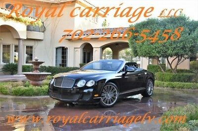 2010 Continental GT  2010 Bentley Continental GT 2dr Conv Speed