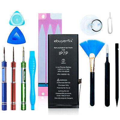 ebuyerfix® Genuine Battery Replacement for iPhone 7 Plus 2900mAh with Tool kit