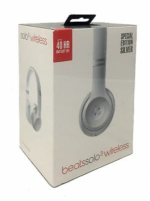 Beats By Dr Dre Wireless Headphones Beats Solo3 - Silver Brand New and Sealed