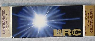 10 Electrodes Tungsten Welding TIG 3,2 x 150 mm LANTHANATED - MADE IN USA