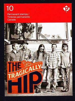 Canada 2013 BK#543 The Tragically Hip, MNH Booklet of 10 P stamps