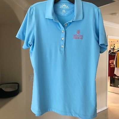 068fb45f3ac Peter Millar E4 The Old Course St Andrews Links Golf Shirt Women s Size L  Large