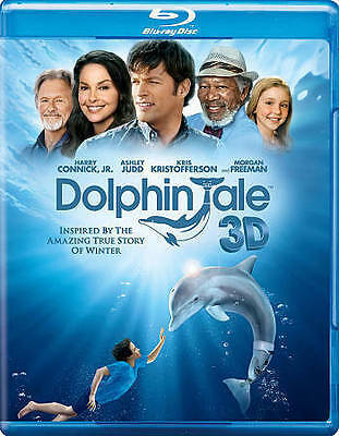 Dolphin Tale in 3D (Blu-ray/DVD, 2011, 3-Disc Set, )