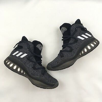 promo code 8e07e e8d8b Adidas Mens Boys Geofit Crazy Explosive Basketball Shoes Size 6