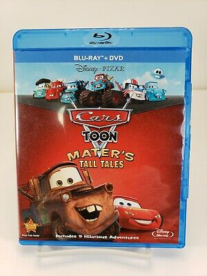 Cars Toon: Maters Tall Tales (Blu-ray/DVD, 2010, 2-Disc Set)