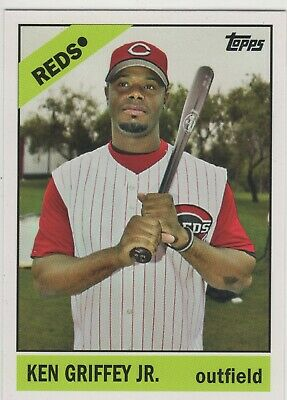 Ken Griffey Jr. 2008 Topps Trading Card History TCH30 Reds HOF *FREE SHIPPING*