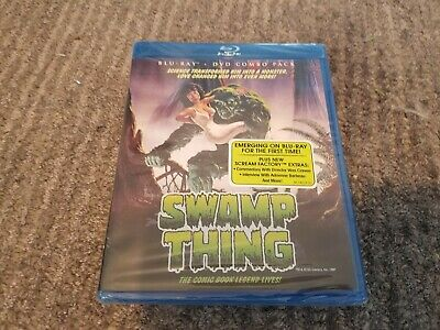 Swamp Thing - Scream Factory New Sealed  Blu-ray DVD Combo - Wes Craven