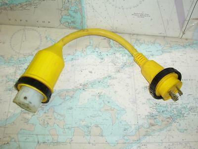 Boaters' Resale Shop of TX 1802 2157.34 MARINCO 117A PIGTAIL ADAPTER 50A TO 30A