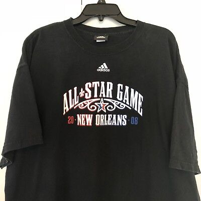 ADIDAS NBA ALL-STAR Game 2008 New Orleans Media Bag Gym Duffel Bag ... 454573b51fba6