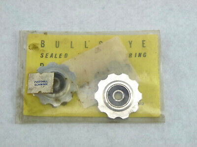 Bullseye Pulleys NOS *GREEN* For Vintage Campy Shimano Suntour /& Others