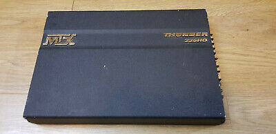 MTX Thunder 225HO 2 channel power amplifier 0.5 ohm stable ! USA Made