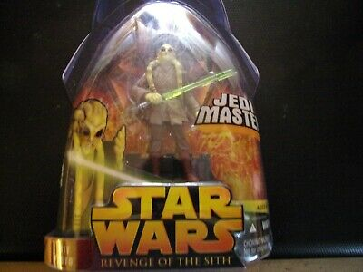 Action Toy Figures Star Wars Episode Iii 3 Revenge Of The Sith Kit Fisto Jedi Master Figure 22 Toys Games Figures Action Toy Figures