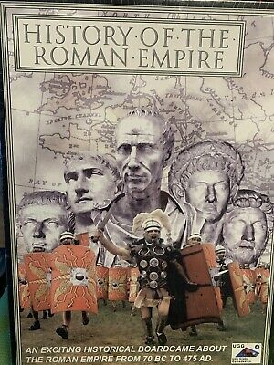 History Of The Roman Empire Board Game - NEW SEALED