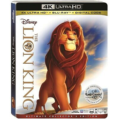 The Lion King 4K UHD+Blu-ray+Digital (2018) Ultimate Collector's Ed - BRAND NEW