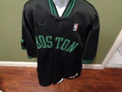 4632564e VINTAGE Nike Rewind 1963 Boston Celtics Mens NBA Warm Up JACKET Jersey Size  XL