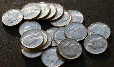 FULL ROLL (20 COINS) of 1964 P UNCIRCULATED KENNEDY HALF DOLLARS *VERY NICE*