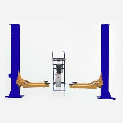 CAR HOIST 3 Ton Super Low Profile Two Post Hoist 2000mm Lift Posts Workshop Home
