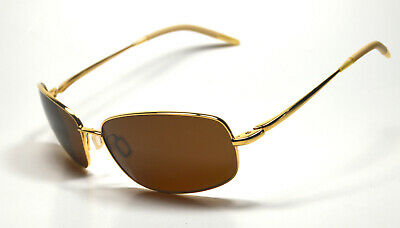 aa31462b4ac New Oliver Peoples Sunglasses Truce Col. Gold + Java VFX Polarized Glass