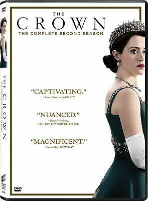 The Crown: Complete Second Season 2 (DVD, 2018, 4-Disc Set) NEW Free Shipping333