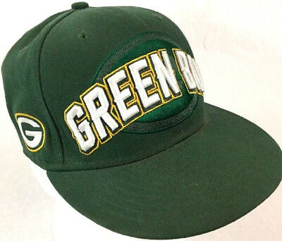 GREEN BAY ACME Packers Nfl New Era 59 Fifty Fitted Hat cap (Size 8 ... 65b1dd3c3