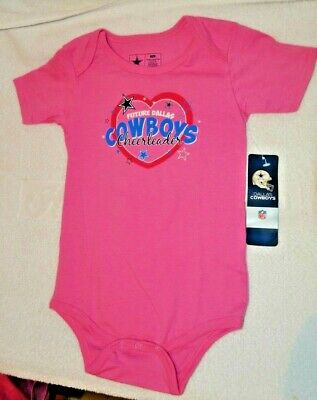 Dallas Cowboys Girls infant 24 Months One Piece Pink