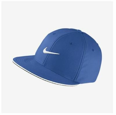 4301d91f733 NEW NIKE GOLF True Statement Flat Bill Mens Fitted Cap Hat S M ...