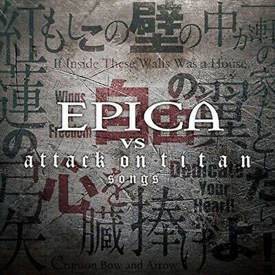 EPICA VS attack on titan songs 2017 CD New Symphonic Gothic Metal w/Tracking No.