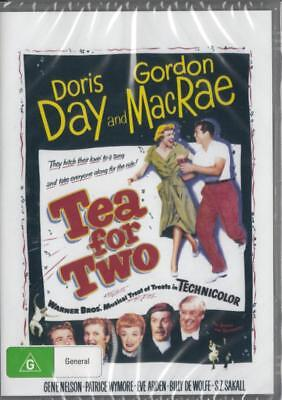Tea For Two - Doris Day - New & Sealed Dvd - Free Local Post