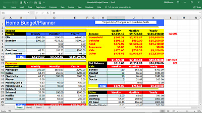 Budget Planner -Open Your Eyes to Your Financial Position