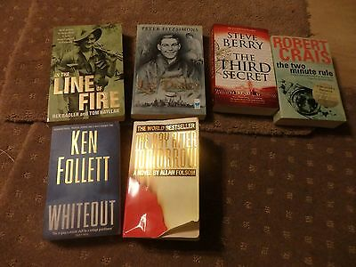 books mixed lot  The ballard of Les Darcy,The two minute rule,the line of fire