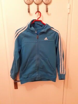 11 Adidas Gilet Ans Taille À Capuche 12 yY76bgvf