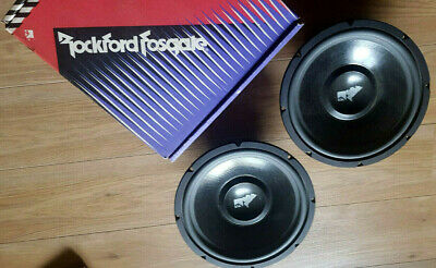 Rockford Fosgate The Punch PCH-128 Pair 12'' Subwoofers