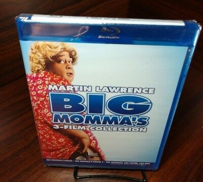 BIG MOMMA'S 3 FILM COLLECTION (Blu-ray) NEW-Free Shipping w/Tracking