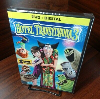 HOTEL TRANSYLVANIA 3 (DVD+Digital) NEW-Free Shipping with Tracking