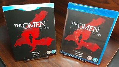 The Omen:The Complete Collection(Blu-ray)REGION 2(UK)READ DESCRIPTION-Free S&H