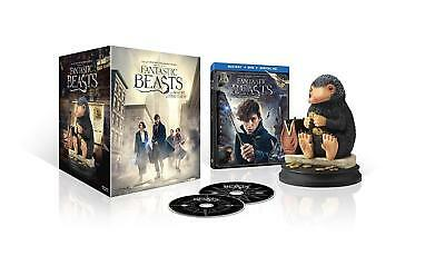 Fantastic Beasts and Where To Find Them W. Niffler Statue (Blu-Ray+DVD+HD UV)NEW