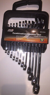12 Piece Metric Combination Spanner Set ND-0324
