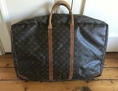 ef93f34c5dda LOUIS VUITTON Suitcase Brown Monogram Canvas Sirius 70 Soft Sided - Used