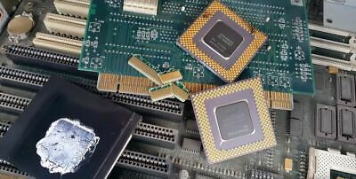 LINK FOR HOW to recycle gold from cpu computer scrap  value of gold in cpu  -clip